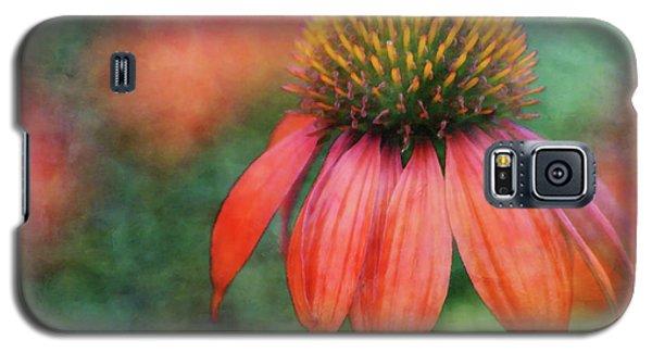 Orange Coneflower 2576 Idp_2 Galaxy S5 Case