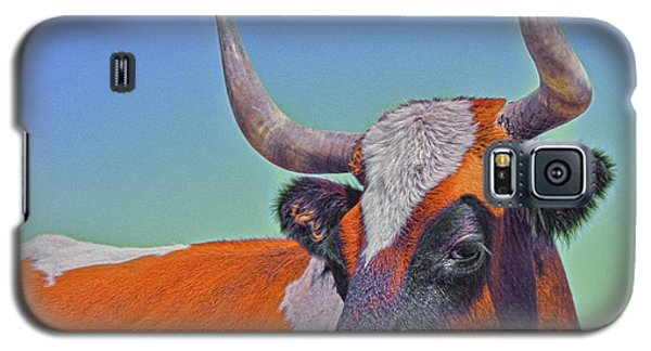 Galaxy S5 Case featuring the photograph Orange Crush by Amanda Smith