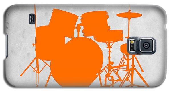 Drum Galaxy S5 Case - Orange Drum Set by Naxart Studio