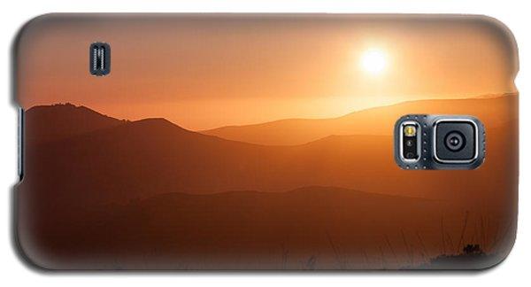 Orange Euphoria Galaxy S5 Case