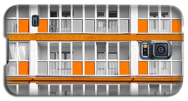 Orange Exterior Decoration Details Of Modern Flats Galaxy S5 Case