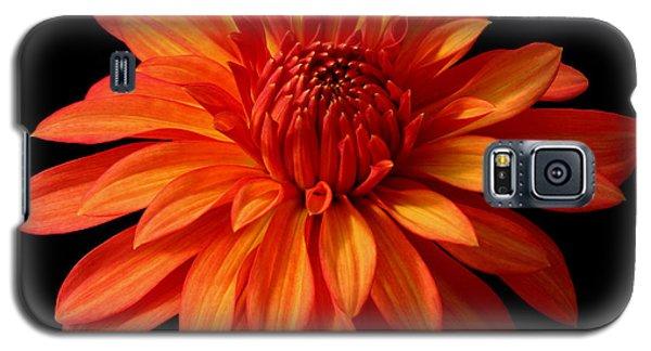 Orange Flame Galaxy S5 Case