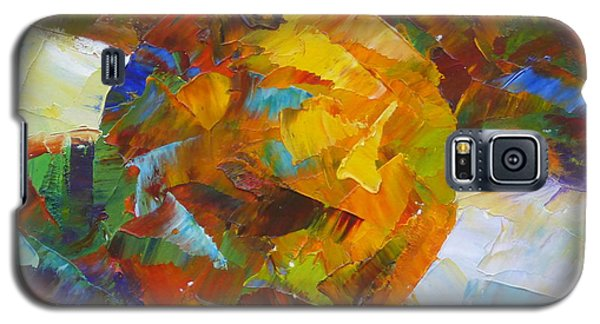 Orange Flash Galaxy S5 Case