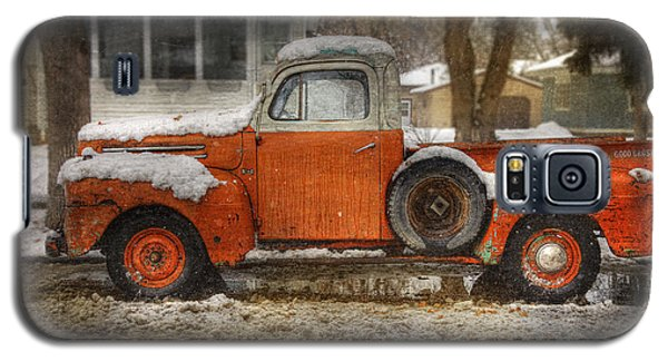 Orange Ford 150 Galaxy S5 Case
