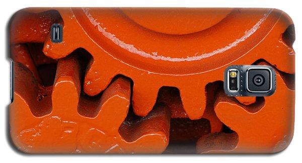Orange Gear 2 Galaxy S5 Case