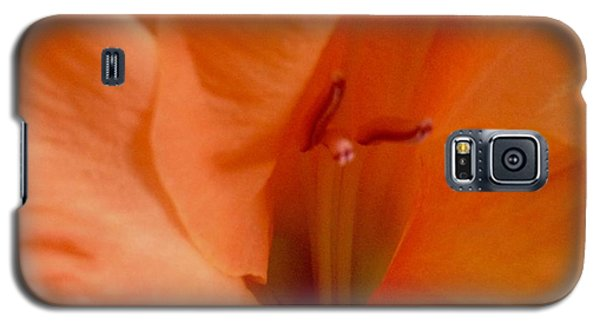 Orange Glad Galaxy S5 Case