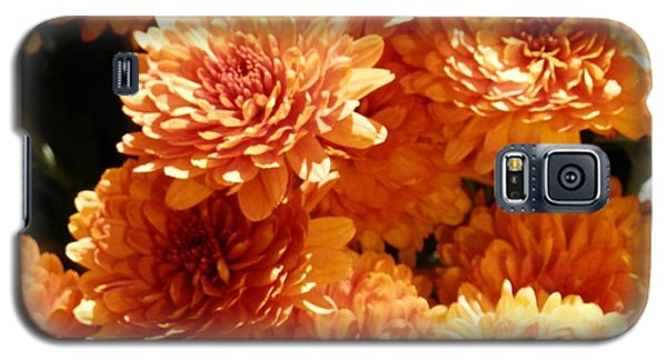 Orange Glory Galaxy S5 Case
