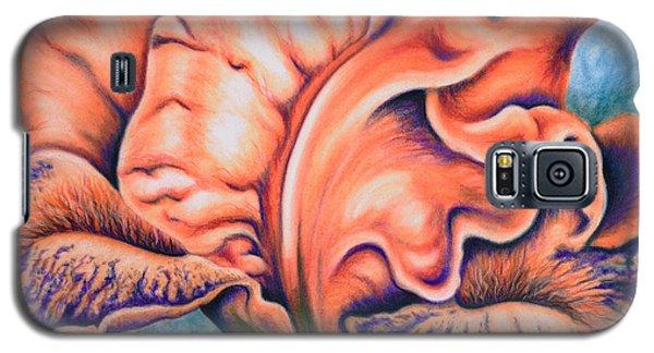 Orange Iris Galaxy S5 Case