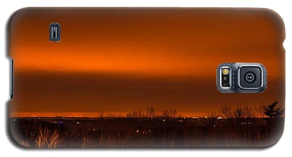 Orange Light Galaxy S5 Case