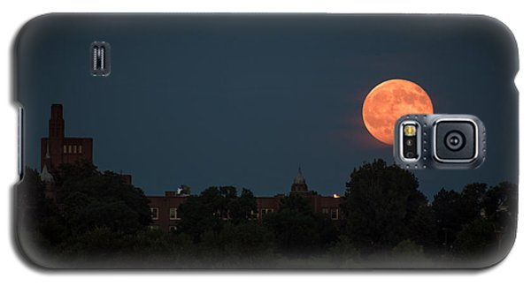 Orange Moon Galaxy S5 Case