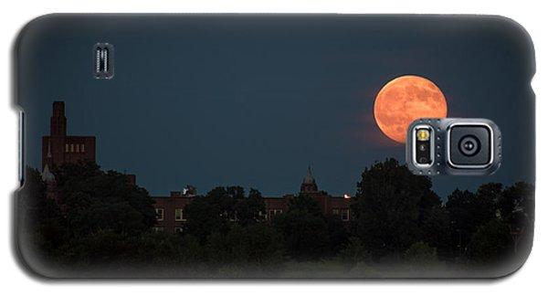 Orange Moon Galaxy S5 Case