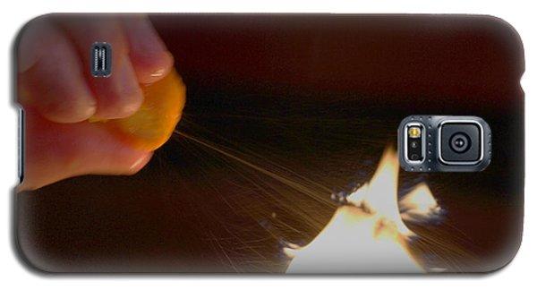 Orange Peel Flame Thrower. Galaxy S5 Case