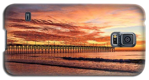 Orange Pier Galaxy S5 Case