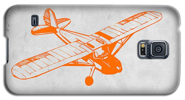 Orange Plane 2 Galaxy S5 Case by Naxart Studio