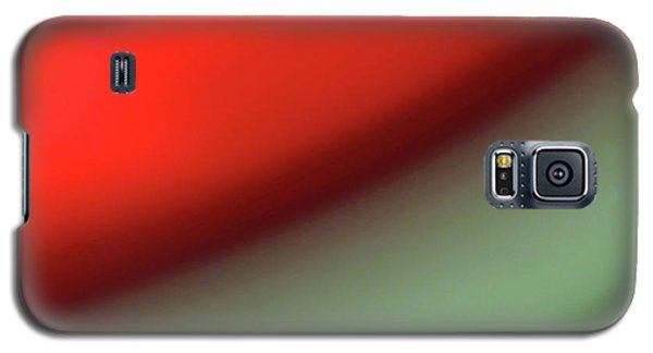 Orange Red Green Galaxy S5 Case by CML Brown