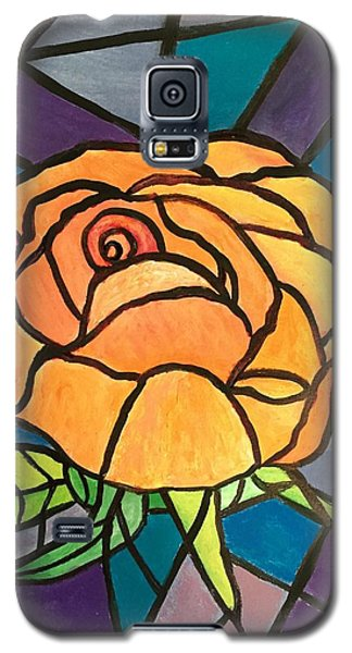 Orange Rose  Galaxy S5 Case