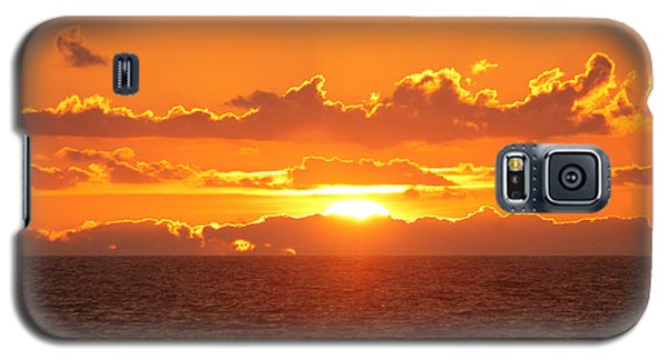 Orange Skies At Dawn Galaxy S5 Case
