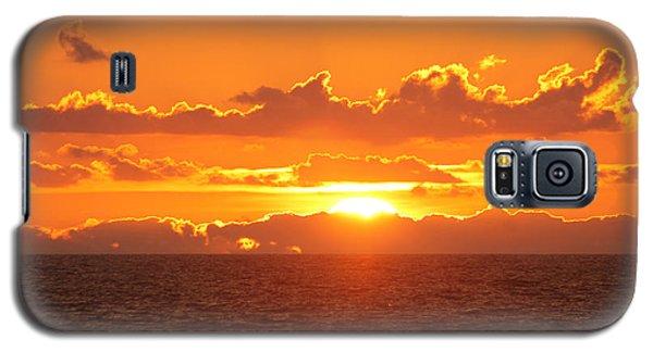 Orange Skies At Dawn Galaxy S5 Case