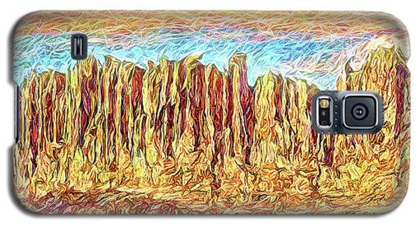 Orange Sky Cliffs - Colorado Galaxy S5 Case