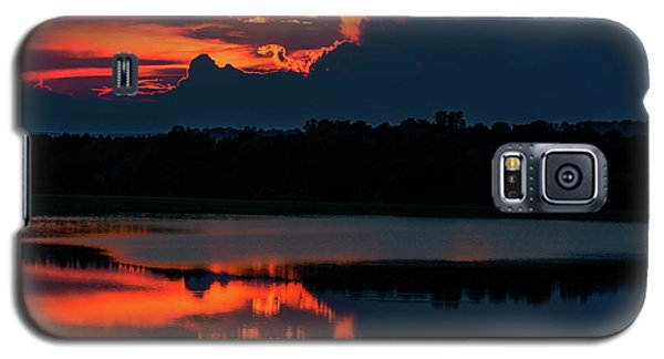 Orange Sky Galaxy S5 Case