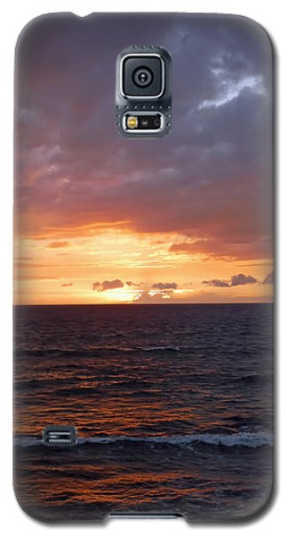 Orange Sky Galaxy S5 Case