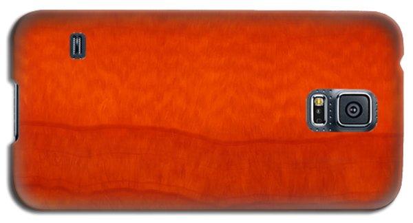 Orange Stone 3 Galaxy S5 Case