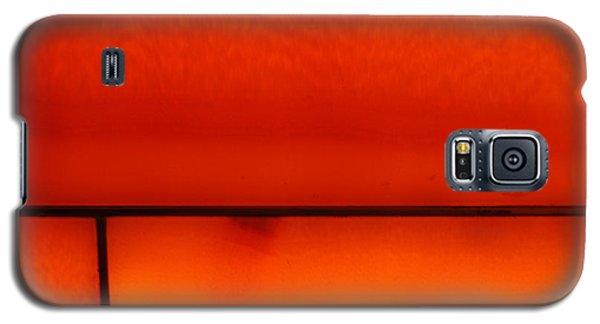 Orange Stone 4 Galaxy S5 Case
