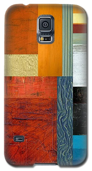 Orange Study With Compliments 1.0 Galaxy S5 Case by Michelle Calkins