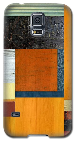 Orange Study With Compliments 2.0 Galaxy S5 Case by Michelle Calkins