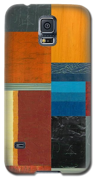 Orange Study With Compliments 3.0 Galaxy S5 Case by Michelle Calkins