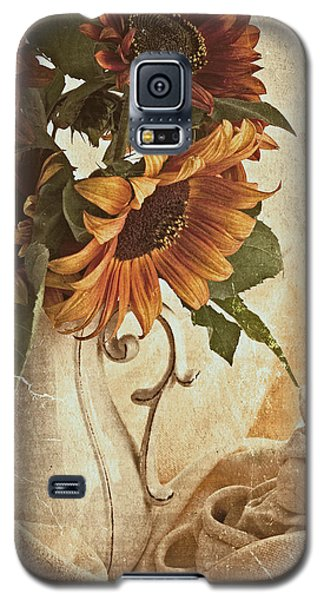 Orange Sunflowers - Found In The Attic Galaxy S5 Case