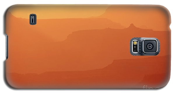 Orange Sunset At Grand Canyon Galaxy S5 Case by RicardMN Photography