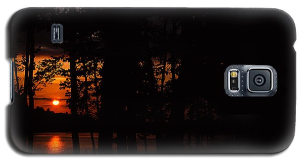Orange Sunset Galaxy S5 Case