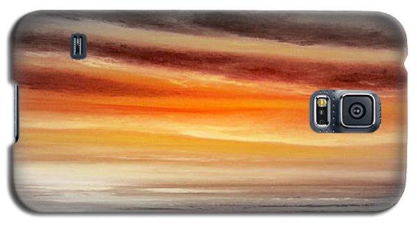 Orange Sunset - Panoramic Galaxy S5 Case
