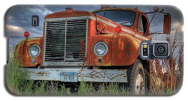 Orange Truck Galaxy S5 Case