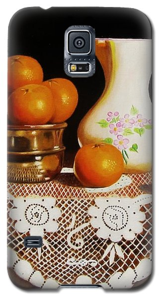 Orange You Sweet  Galaxy S5 Case