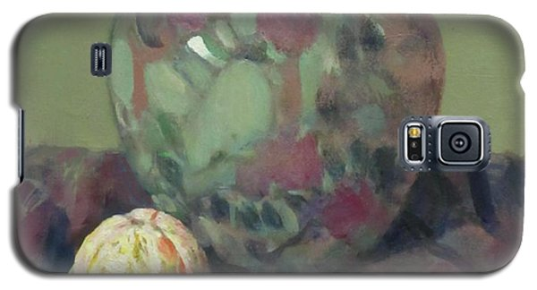 Oranges And Floral Porcelain Vase Galaxy S5 Case