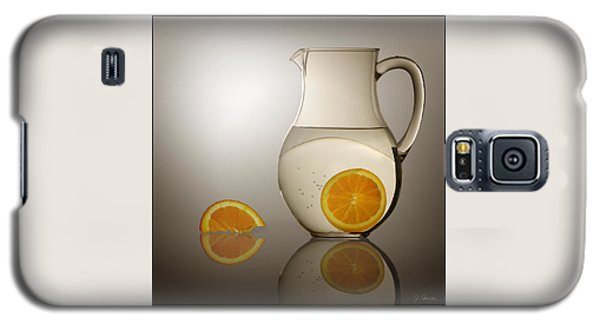 Oranges And Water Pitcher Galaxy S5 Case by Joe Bonita