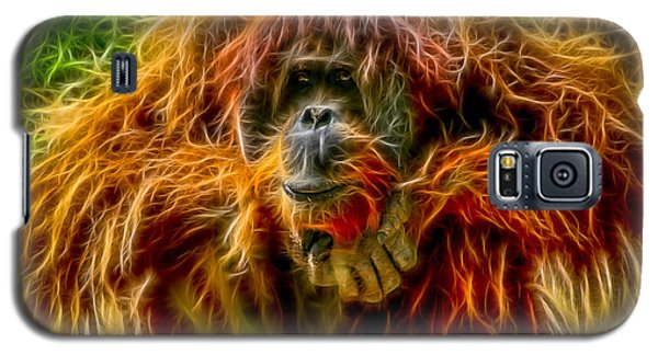 Orangutan Inspiration Galaxy S5 Case