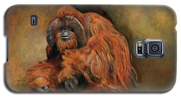 Orangutan Monkey Galaxy S5 Case