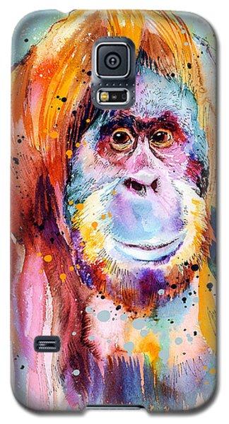 Orangutan  Galaxy S5 Case by Slavi Aladjova