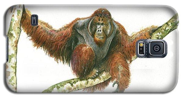 Orangutang Galaxy S5 Case by Juan Bosco