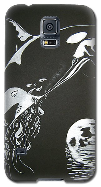 Orca Sillhouette Galaxy S5 Case by Mayhem Mediums