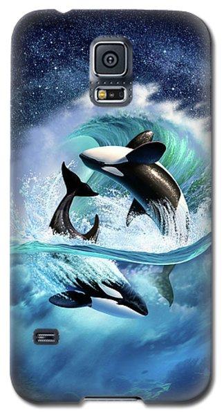 Orca Wave Galaxy S5 Case