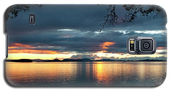 Orcas Island Sunset Galaxy S5 Case