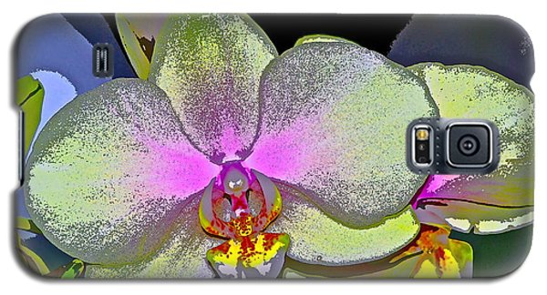 Orchid 2 Galaxy S5 Case by Pamela Cooper
