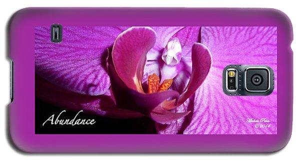 Orchid Abundance Galaxy S5 Case