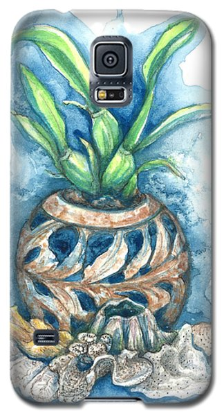 Orchid And Barnacle Galaxy S5 Case