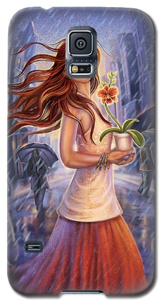 Orchid - Be Yourself Galaxy S5 Case