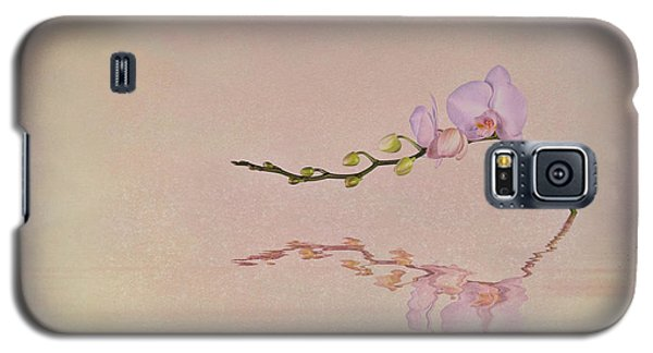 Orchid Blooms And Buds Galaxy S5 Case by Tom Mc Nemar